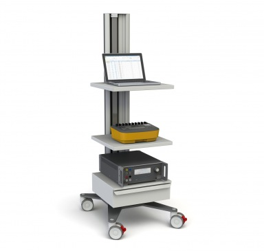 Biomedical test cart