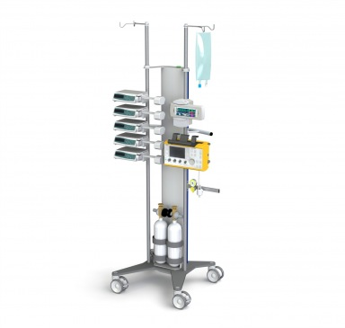 Flexx one Infusion pole cart - configuration example