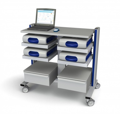 Flexx three - pacemaker programmer cart