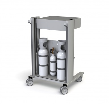 Flexx two 54-100 Lachgas trolley (rear)