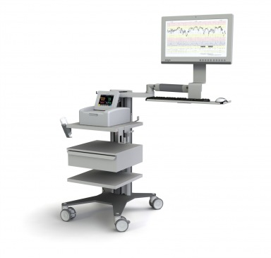 IT cart with medical grade devices