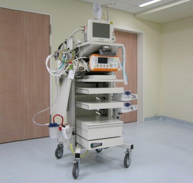 Mobiele Anesthesie Cart