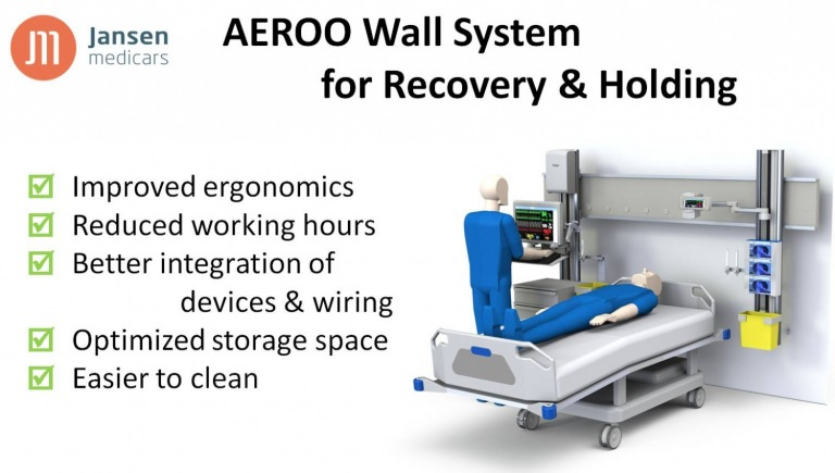 Aeroo Wall system for recovery and holding