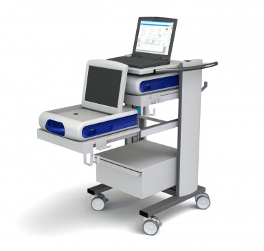 Flexx two 43-100 Pacemaker programmer cart